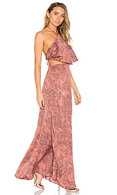x REVOLVE Zoe Halter Dress in Delicate Floral