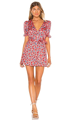 x REVOLVE Aja Mini Dress House of Harlow 1960 $178