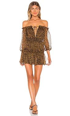 x REVOLVE Sapphire Mini Dress House of Harlow 1960 $181