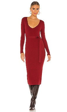 x REVOLVE Aaron Knit Dress House of Harlow 1960 $178