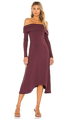 x REVOLVE Off Shoulder Long Midi Dress House of Harlow 1960 $56