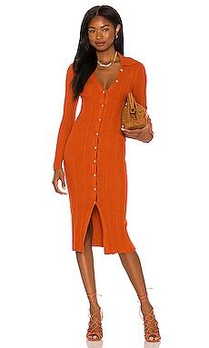 x REVOLVE Carmen Knit Dress House of Harlow 1960 $198 NEW