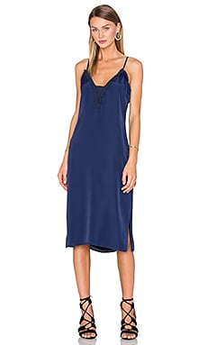 x REVOLVE Stella Deep V Slip Dress