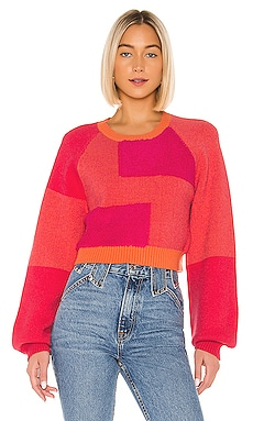 x REVOLVE Kayley Sweater House of Harlow 1960 $165 NEW ARRIVAL