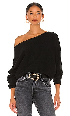 x REVOLVE Winifred Wide Neck Sweater House of Harlow 1960 $175 NEW