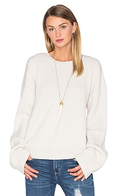x REVOLVE Quinn Sweater in Ivory