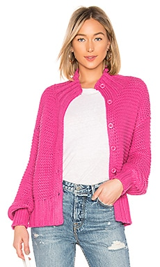 x REVOLVE Reverse Stitch Cardigan House of Harlow 1960 $45 (FINAL SALE)