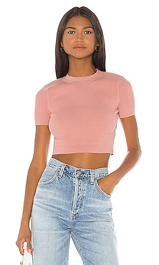 X REVOLVE Aquila Crop Sweater House of Harlow 1960 $52