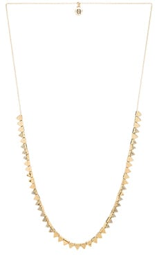 House of Harlow Frequency Necklace in Gold