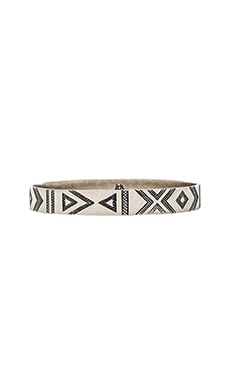 House of Harlow Symbols & Signs Bangle in Silver
