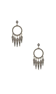 House of Harlow Vibrations Chandelier Earring in Silver