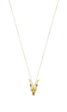House of Harlow Turkana Pendant Necklace in Gold