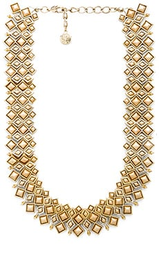 House of Harlow Kraals Statement Necklace in Gold