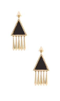 House of Harlow Del Sol Chandelier Earring in Black