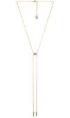 House of Harlow Sama Bolo Tie Necklace in Gold