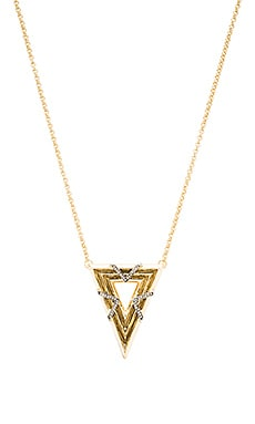 House of Harlow Vintage Muse Pendant Necklace in Gold