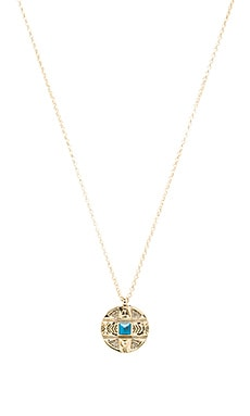 House of Harlow Maricopa Coin Pendant Necklace in Gold