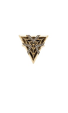 House of Harlow Vintage Muse Cocktail Ring in Gold