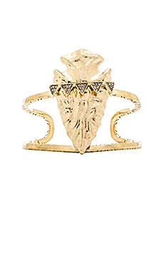 House of Harlow Mojave Cuff in Gold
