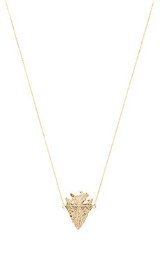 House of Harlow Mojave Pendant Necklace in Gold