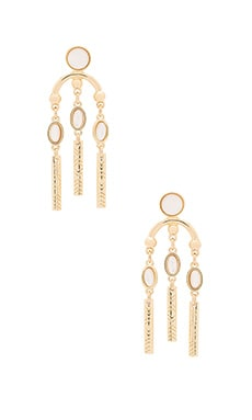 Desert Oasis Drop Earrings in Gold