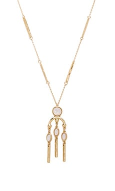 Desert Oasis Drop Pendant Necklace in Gold