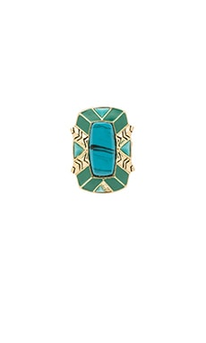 House of Harlow Nile Delta Cocktail Ring in Gold