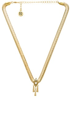House of Harlow Tribal Choker Necklace