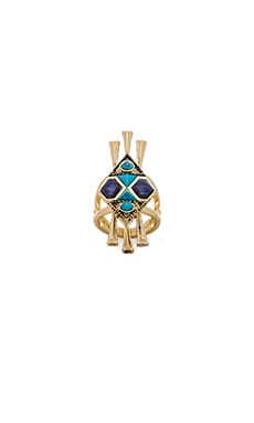 House of Harlow Tribal Statement Ring