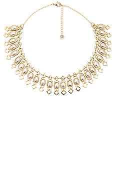 Lady of Grace Collar Necklace in Gold & Silver