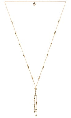 House of Harlow Astrea Y Necklace en Or