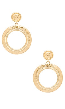 The Titaness Statement Earrings en Or