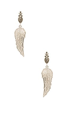 The Avium Earrings in Silver
