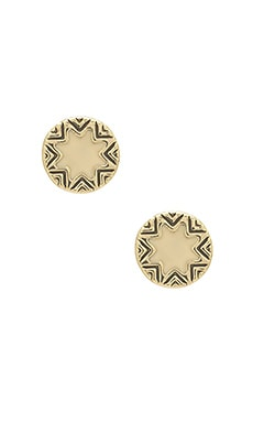Mini Sunburst Earrings
