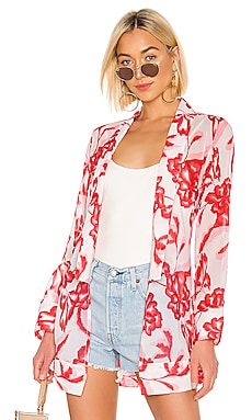 x REVOLVE Yuliana Bed Jacket House of Harlow 1960 $158