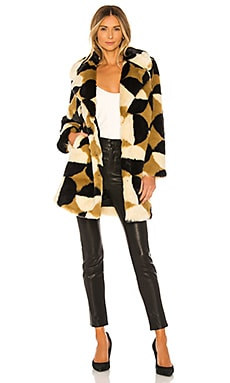 x REVOLVE Luca Coat House of Harlow 1960 $278 NEW ARRIVAL
