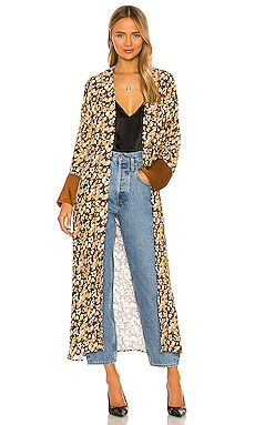 x REVOLVE Leopard Silky Robe House of Harlow 1960 $124
