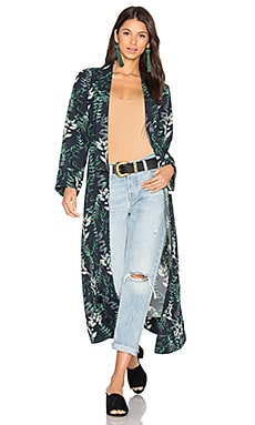 x REVOLVE Yoselin Maxi Bed Jacket