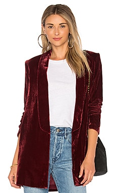 X REVOLVE Chloe Boyfriend Jacket House of Harlow 1960 $218