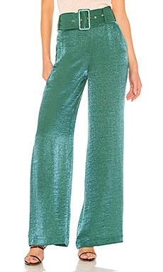 X REVOLVE Mona Belted Pant House of Harlow 1960 $66 (FINAL SALE)