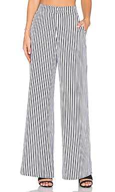 House of Harlow 1960 x REVOLVE Mona Pant in White & Black Stripe