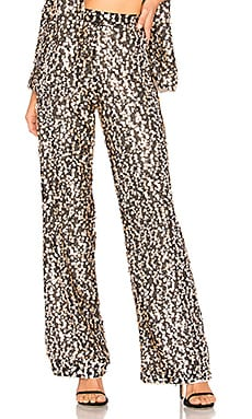 PANTALON À SEQUINS MARTIN House of Harlow 1960 $139