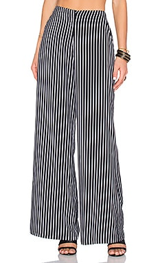 House of Harlow 1960 x REVOLVE Mona Pant in Black & White Stripe