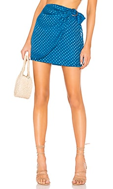 x REVOLVE Bobbi Silk Skirt House of Harlow 1960 $113