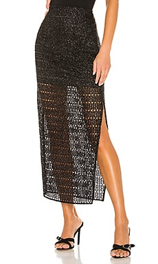 x REVOLVE Meera Midi Skirt House of Harlow 1960 $158