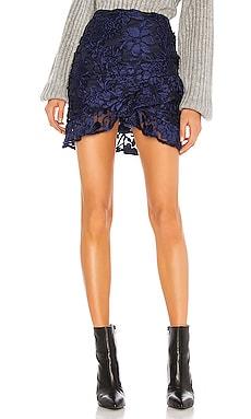 x REVOLVE Bianka Mini Skirt House of Harlow 1960 $46 (FINAL SALE)
