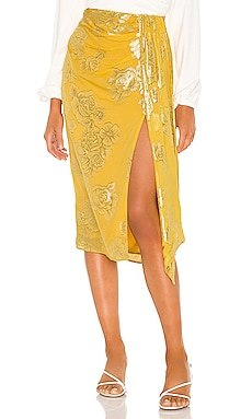 x REVOLVE Mirai Midi Skirt House of Harlow 1960 $155