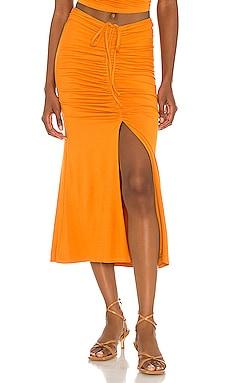 x Sofia Richie Sunnie Midi Skirt House of Harlow 1960 $158