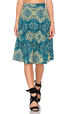 House of Harlow 1960 x REVOLVE Laya Midi Skirt in Moroccan Tile Print