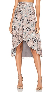 x REVOLVE Maya Wrap Skirt Mosaic in Kaleidoscope
